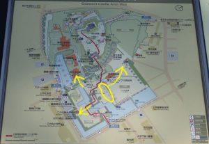 小田原城 銅門 桜 トイレ