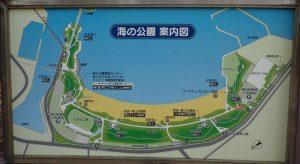 海の公園案内図