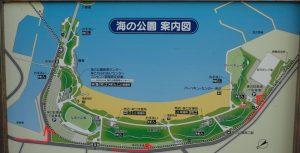 海の公園駐車場入場方法(混雑時期)