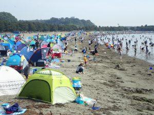 海の公園 潮干狩り 拠点場所