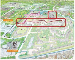 熊本城:特別公開コース、第1弾~第3弾
