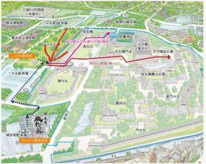 熊本城特別公開:入場口