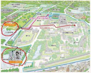 熊本城特別公開:券売所(二の丸券売所・わくわく券売所)