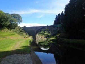 通潤橋の登り方・ルート