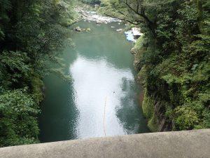 御橋:貸しボート側:高千穂峡