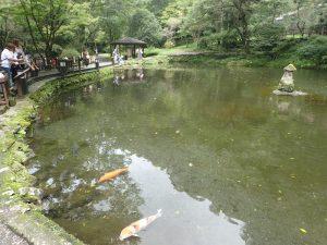高千穂峡:おのころ池