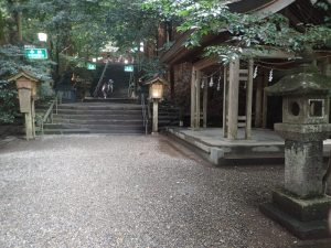 高千穂神社 参道ルート順路