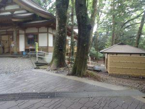 高千穂神社:公衆トイレ