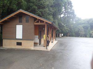 高千穂神社:駐車場内公衆トイレ バリアフリー