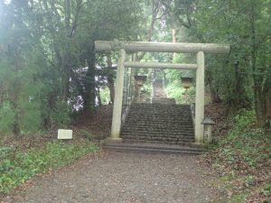 天岩戸神社:東本宮、表参道