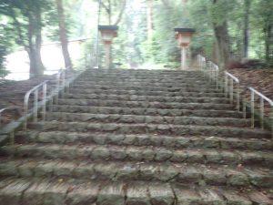 天岩戸神社:東本宮、表参道、階段