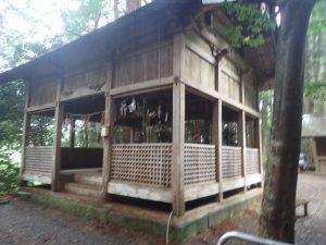 天岩戸神社:東本宮、神楽殿