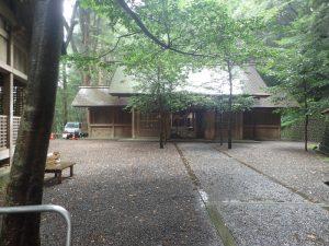天岩戸神社:東本宮、拝殿