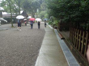 天岩戸神社西本宮:参道