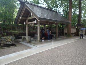 天岩戸神社西本宮:手水舎