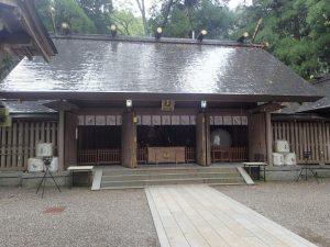 天岩戸神社西本宮:拝殿