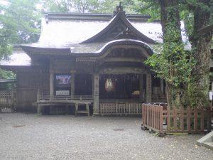 天岩戸神社西本宮:神楽殿