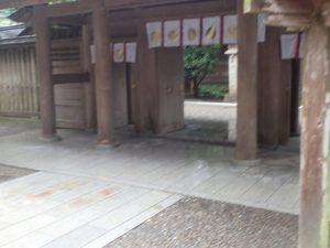 天岩戸神社西本宮:神門
