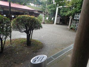 天岩戸神社西本宮:喫煙場所、タバコ