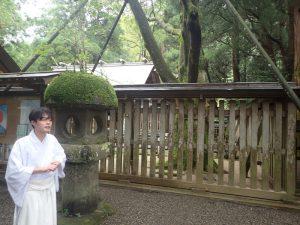 天岩戸神社西本宮:神職からの説明