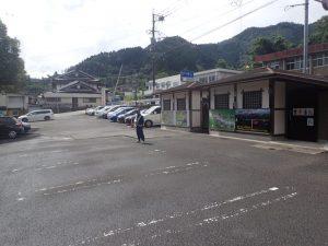 天岩戸神社:西本宮駐車場