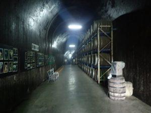 トンネルの駅:焼酎貯蔵庫