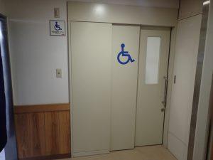 トンネルの駅:宮崎県、多目的トイレ