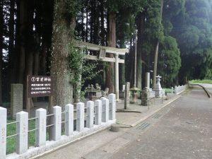 草部吉見神社:鳥居