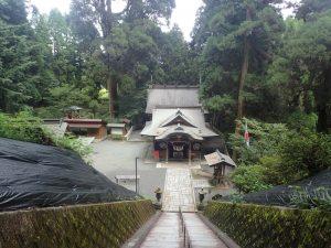 草部吉見神社:全体図