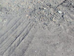 阿蘇山:火山灰