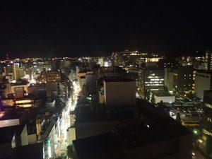 熊本城:熊本市役所、展望ロビー