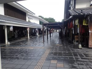 熊本城:桜の小路、おみやげ、お食事