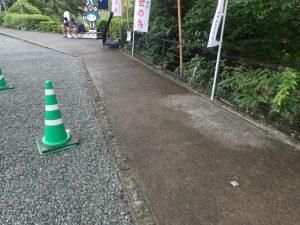 熊本城:加藤神社、車椅子用ルート