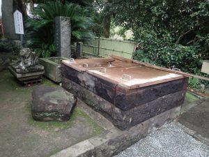 熊本城:加藤神社、井戸