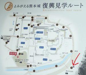熊本城:熊本市役所 ライトアップ
