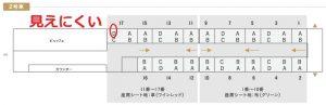 SL人吉2号車:座席表