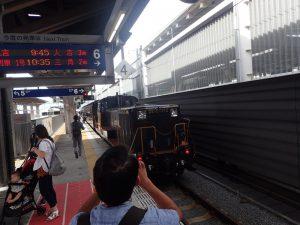 熊本駅:SL人吉