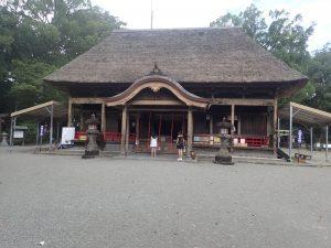 青井阿蘇神社:拝殿