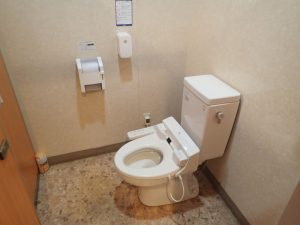 吉温泉物産館:洋式トイレ