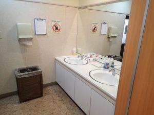 人吉温泉物産館:手洗い場