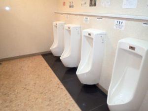 人吉温泉物産館:男子トイレ