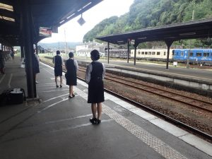 SL人吉:人吉駅アテンダント