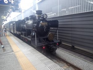 SL人吉:熊本駅(上り)到着後
