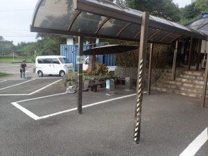 藍のあまくさ村:喫煙場所