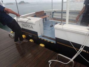 シークルーズ:オリビア、乗船口