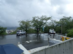キリシタン館:駐車場