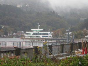 芦ノ湖:遊覧船