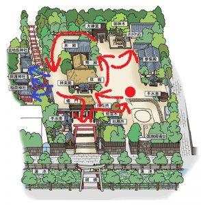 青井阿蘇神社:参拝、観光ルート