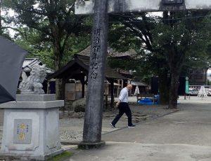 青井阿蘇神社:手水舎