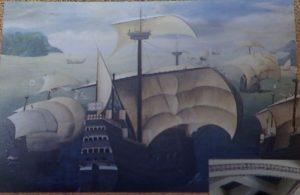天草四郎ミュージアム:カラック船